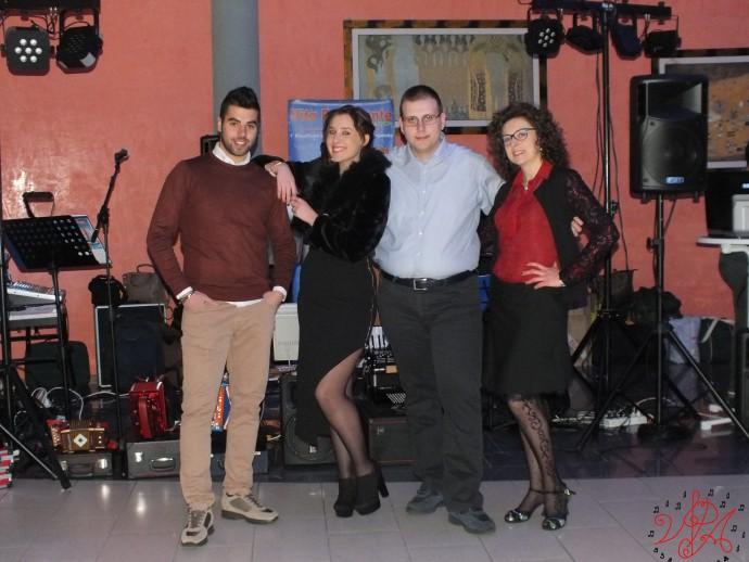 Ristorante Veters, uscita Balvano, Vietri di Potenza, Radio Carina, Francesca Trotta, Luciano Brienza, Angela Possidente, capodanno